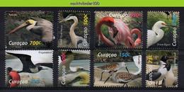 Ngd002 FAUNA VOGELS PELICAN FLAMINGO HERON GULL GANNET EGRET FRIGATEBIRD BIRDS VÖGEL AVES OISEAUX CURAÇAO 2012 PF/MNH - Collections, Lots & Séries