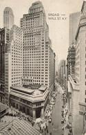 USA New York Broad And Wall Street - Wall Street