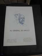 """CLASSEUR De TIMBRES  Sur Le Thème  """"  GENERAL  DE GAULLE  """" - De Gaulle (General)"""