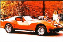 ► CORVETTE & PIN-UP - Automobile Chevrolet   1980's - Pin-Ups