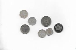 Lot De 7 Pieces - Sri Lanka (Ceylon)