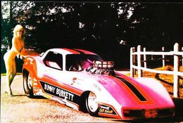 ► CORVETTE & PIN-UP Bunny Burkett - Automobile Chevrolet   1980's - Pin-Ups