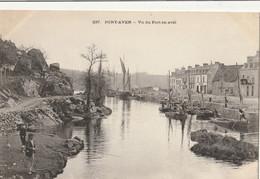 PONT AVEN  Vue Du Port En Aval - Pont Aven
