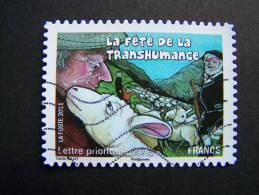 OBLITERE FRANCE ANNEE 2011 N°577 FETES ET TRADITIONS DE NOS REGIONS FETE DE LA TRANSHUMANCE EN MIDI PYRENEES - Gebraucht