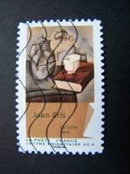 FRANCE OBLITERE 2012 N° 705 JUAN GRIS SERIE DU CARNET CUBISME AUTOCOLLANT ADHESIF - Gebruikt