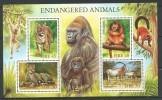 Irlande 1998 Bloc 30 Neuf ** Animaux, Guépard, Oryx, Singe, Tigre - Hojas Y Bloques