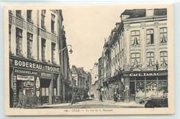CPA 59 LILLE COMMERCE BODEREAU TROUVE CAFE TABAC RUE DE LA MONNAIE N°116 EDIT.LA CIGOGNE   VOIR IMAGES - Lille