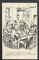 N°2  -  Mariage Villageois ( Les Accordailles )  Sinée C.Lestin 1910 - MACA 2243 - Other Illustrators
