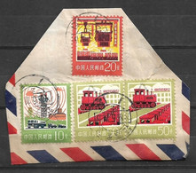 USED STAMPS CHINA ON PIECE - Sonstige