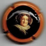 CLICQUOT  N°149a   Lambert - Tome 1  84/27 & 28  Contour Orange  Signature Sur Fond Orange Au Verso , Tête Plus Grosse - Clicquot (Veuve)