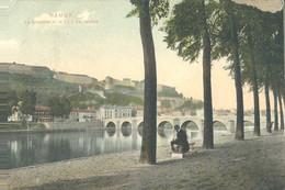 Namur  La Citadelle Et Le Pont De Jambes - Namur