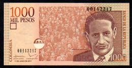 570-Colombie Billet De 1000 Pesos 2011 - 001 Neuf - Kolumbien