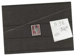SURCHARGE EA 1962/63 ORAN 9 92 Cote 52 € - Algerien (1962-...)