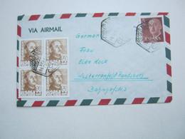 CEUTA , Luftpostbrief Nach Deutschland  1954 - Non Classificati