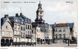51 - REIMS - Eglise Saint-Jacques - Place D'Erlon - Reims