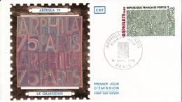 1er Jour Fdc N°1832 Arphila 75 Le Graphisme 19 Avril 1975 Paris - 1970-1979