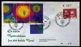 Greenland 1983  Cover  Minr.142 SDR. STRØMFJORD    (lot  422 ) - Brieven En Documenten