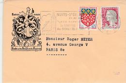 Lettre En-tête : Confrère Des Chevaliers Du Tastevin : Nuits-St George 19-1-1965 - 1961-....