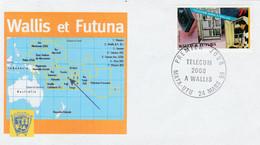 Premier Jour : Telecom 2000 à Wallis - Covers & Documents
