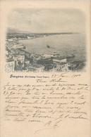 AK OLD POSTCARD - TURCHIA   - TURKEY   -  SMYRNE (FAUBURG GUEZ-TEPE) - VIAGGIATA 28 FEBBRAIO 1900 - D14 - Türkei