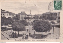 Carte Postale :Seminara  (Italie) , Piazza Vittorio Emmanuel III   Ph Russo Natale 2 - Other Cities
