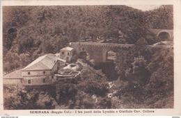 Carte Postale :Seminara  (Italie) , I Tre Ponti Della Lymbia E Oleificio Collura        Ph Fraca Giuseppe  2 - Other Cities