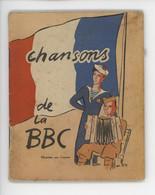 ° WW2 ° Chansons De La BBC Les Chansons Que Vous Avez Entendues à La Radio Vous Sont Apportées Par Vos Amis De La RAF - Historical Documents