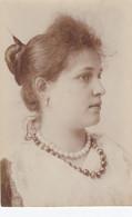 NAPOLI-COSTUMI-VISO DI DONNA-CARTOLINA NON VIAGGIATA-1900-1904 - Napoli (Napels)