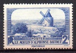 Col18  France N° 311 Daudet Neuf X MH Cote 4,00€ - Unused Stamps