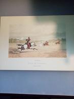 Gravure N°5 Travail Individuel (Saumur école De Cavalerie /laboratoires Sandoz) - Advertising