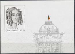 [106849]TB//ND/Imperf-c:63e-Belgique 2001, BL88, Reine Louise-Marie, Dynastie Belge, ND/Imperf - Ongetande