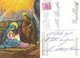Cartolina Pubblicitaria Albano Macario Vetreria Torino. Viaggiata 1961 - Sin Clasificación