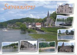SAVONNIERES (37.Indre Et Loire) Multivues. Vue Générale, Rives De La Loire, église - Other Municipalities