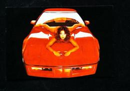 ► CORVETTE Custom 1980's & PIN-UP - Automobile Chevrolet   USA - American Roadside