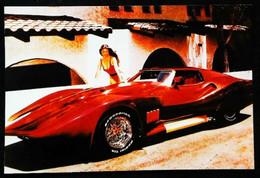 ► CORVETTE Custom 1980's & PIN-UP - Automobile Chevrolet   USA - Pin-Ups