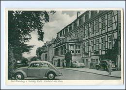 Y12380/ Bad Meinberg Kurhotel Zur Rose  Autos VW Käfer 1955 AK  - Sin Clasificación