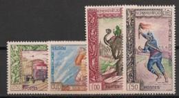 Laos - 1962 - N°Yv. 82 à 85 - Exposition Philatélique De Ventiane - Neuf Luxe ** / MNH / Postfrisch - Laos