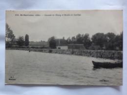 SAINT MARTINIEN  ( 03 ) CHAUSSE DE L'ETANG ET MOULIN DE BARTILLAT  N° 1761 - Other Municipalities