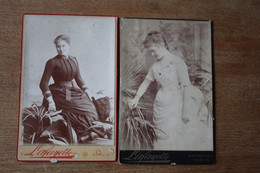 2 Cabinets   IRLANDE Noblesse Mathilde 0'Kelly Comtesse Turquet De La Boisserie - Antiche (ante 1900)