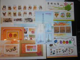 Collection , Taiwan 20 Timbres 8 Blocs Neufs - Sammlungen (ohne Album)