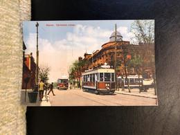 Odessa Tram Granberg  Issue Postcard Printed 1910th - Russia