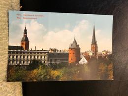 Riga Granberg Issue Postcard Printed 1910th - Lettonia