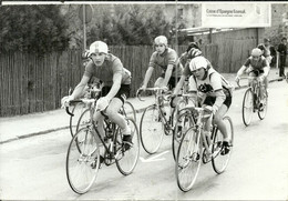 ( CYCLES  )( CYCLISTES  )  ( COURSE )( PHOTO MACRON )( AULNAY SOUS BOIS ) 06 AVR .1980 - Wielrennen