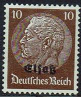 DR,Elsaß 1940, MiNr 6, Postfrisch - Occupation 1938-45