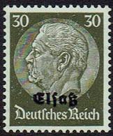 DR,Elsaß 1940, MiNr 11, Postfrisch - Occupation 1938-45
