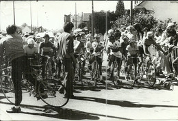 ( CYCLES  )( CYCLISTES  )  ( COURSE )( PHOTO MACRON )( AULNAY SOUS BOIS ) 16 SEP 1979 - Wielrennen