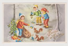 Carte Mignonnette Bonne Année  Enfants - Anno Nuovo