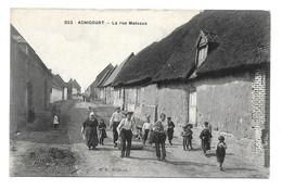 62 - ACHICOURT - LA RUE MALVAUX - Andere Gemeenten