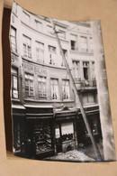Ancienne Grande Photo D'un Commerce,maison Boland,30 Rue Vinale-d'ile à Liège,17,5 Cm. Sur 12,5 Cm. - Beroepen
