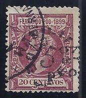 ESPAÑA/FERNANDO POO 1900 - Edifil #72 - VFU - Fernando Poo